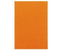 Poznámkový notes Juliet čtverečkovaný, A5 - oranžová