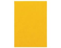Poznámkový notes Theia čtverečkovaný, A5 - žlutá