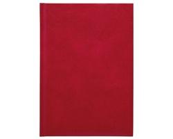 Poznámkový notes Kronos čtverečkovaný, A5 - červená