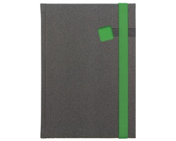 Poznámkový notes Mambo linkovaný, A5 - zelená