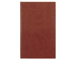 Poznámkový notes Arges čtverečkovaný, 9x15 - hnědá