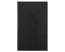 Poznámkový notes Péleus čtverečkovaný, 9x15 - černá