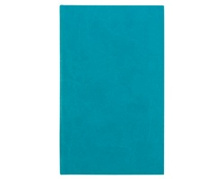 Poznámkový notes Carina čtverečkovaný, 9x15 - tyrkysová
