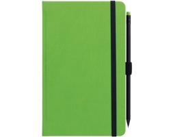 Poznámkový notes G-Notes n.1 linkovaný s poutkem, 13x21 - zelená