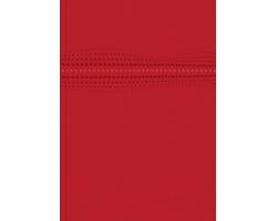 Poznámkový linkovaný notes Stilo, A4 - červená