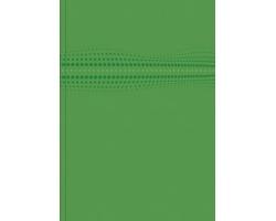 Poznámkový linkovaný notes Stilo, A4 - zelená