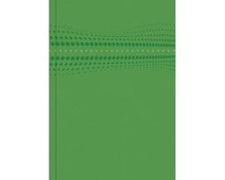 Poznámkový linkovaný notes Stilo, A5 - zelená