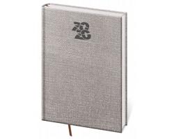 Denní diář Carpet 2020, A5 - šedá