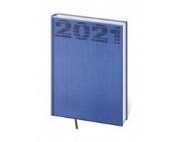 Denní diář Coco 2021, A5 - modrá
