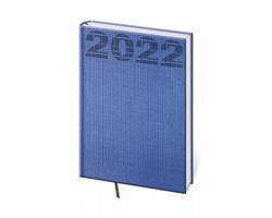 Denní diář Coco 2022, A5 - modrá