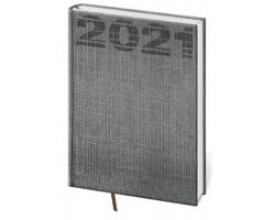 Týdenní diář Coco 2021, A5 - šedá