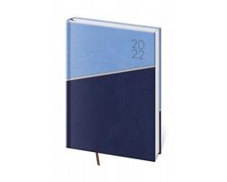 Denní diář Line 2022, A5 - modrá