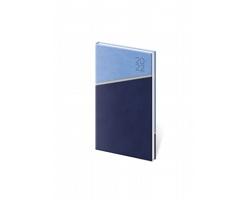 Kapesní týdenní diář Line 2022, 8x15 cm - modrá