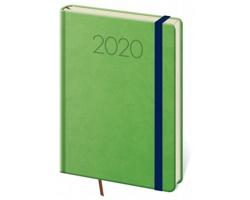 Denní diář New Praga 2020, A5 - zelená