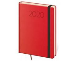 Týdenní diář New Praga 2020, A5 - červená