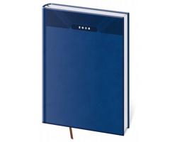 Denní diář Print 2020, A4 - modrá