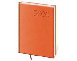 Denní diář Print 2020, A5 - oranžová