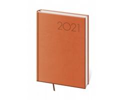 Denní diář Print 2021, A5 - oranžová