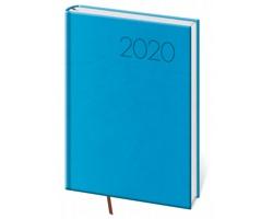 Denní diář Print 2020, A5 - světle modrá