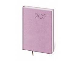 Denní diář Print 2021, A5 - růžová