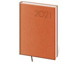 Týdenní diář Print 2021, A5 - oranžová