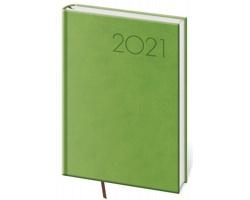 Týdenní diář Print 2021, A5 - světle zelená