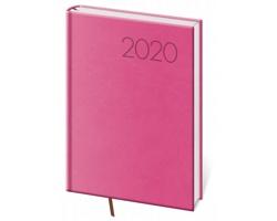 Týdenní diář Print 2020, A5 - růžová