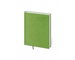 Denní diář Print 2021, B6 - světle zelená