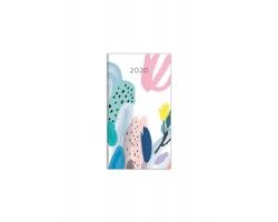 Kapesní čtrnáctidenní diář Napoli 2020, 8x15cm - design 5