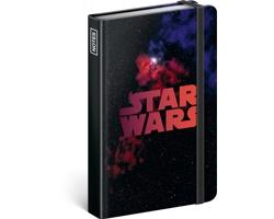 Poznámkový linkovaný notes Star Wars - Universe, 11x16cm