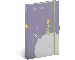 Poznámkový čistý notes Malý princ - Planeta, 13x21 cm