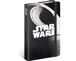 Poznámkový linkovaný notes Star Wars - Death Star, 11x16cm