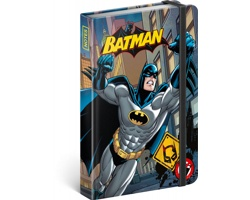 Poznámkový linkovaný notes Batman - Power, 11x16cm