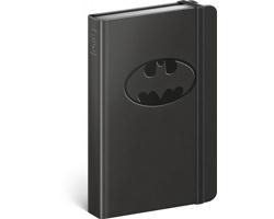 Poznámkový linkovaný notes Batman - Logo, 11x16cm