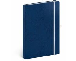 Poznámkový tečkovaný notes Vivella Classic - modrá / bílá