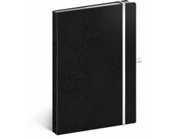 Poznámkový tečkovaný notes Vivella Classic - černá / bílá