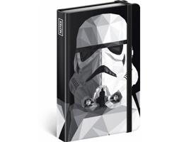 Poznámkový linkovaný notes Star Wars - Clone, 11x16cm