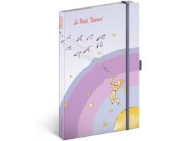 Poznámkový linkovaný notes Malý princ - Má planeta, 13x21 cm