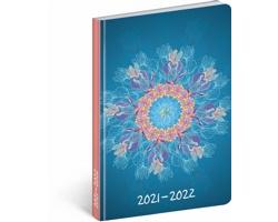 Měsíční diář Petito - Mandala 2022, B6
