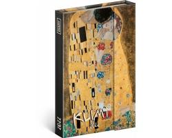 Týdenní diář Gustav Klimt 2022 - západoevropský magnetický, 11x16 cm