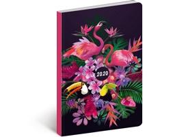 Kapesní týdenní diář Tukan 2020 ultralehký, 11x17cm