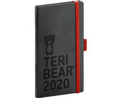 Kapesní týdenní diář Teribear 2020, 9x16cm