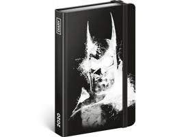 Týdenní diář Batman 2020, 11x16cm