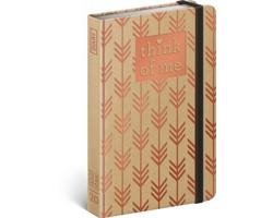 Týdenní diář Craft Šipky - Think of me 2020 - východoevropské, 11x16cm