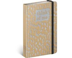 Týdenní diář Craft Kapky - Think of me 2020 - východoevropské, 11x16cm