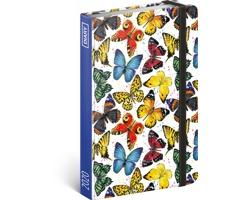 Týdenní diář Motýli 2020 - východoevropské, 11x16cm