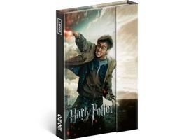 Týdenní diář  Harry Potter 2020 magnetický, 11x16cm