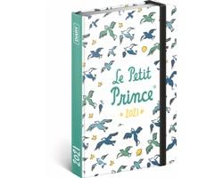 Týdenní diář Malý princ - Ptáci 2021, 11x16 cm