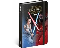 Týdenní diář Star Wars - Battle 2021, 11x16 cm