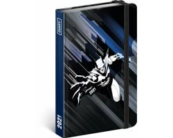 Týdenní diář Batman 2021, 11x16 cm